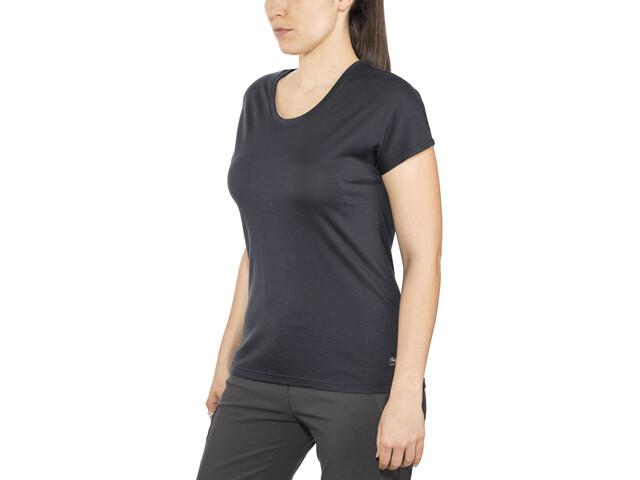 Bergans Oslo Camiseta de Lana Mujer, dark navy